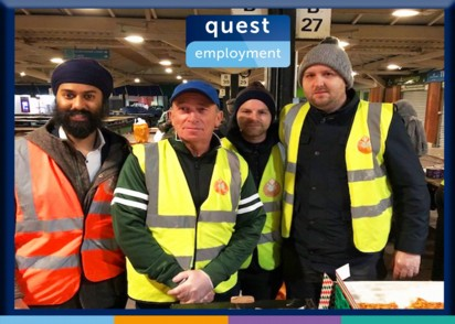 Quest Helping Local Homeless Charity